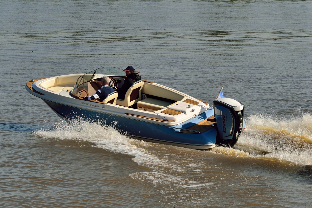 Boat Test Performance Cronos Boats