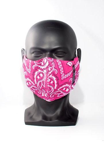Hot Pink Bandana Mask