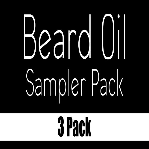 Beard Oil Sample 3 Pack