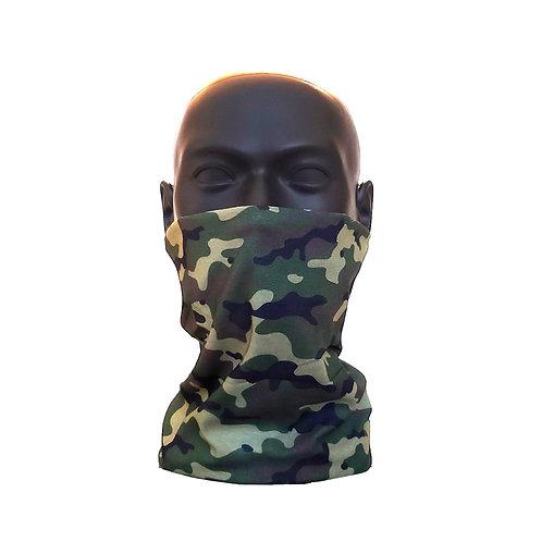 Camo Gaiter Face Covering