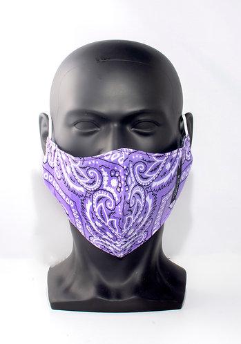 Violet Bandana Mask