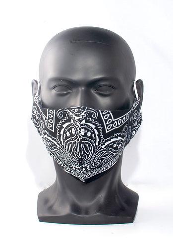 Black Bandana Mask