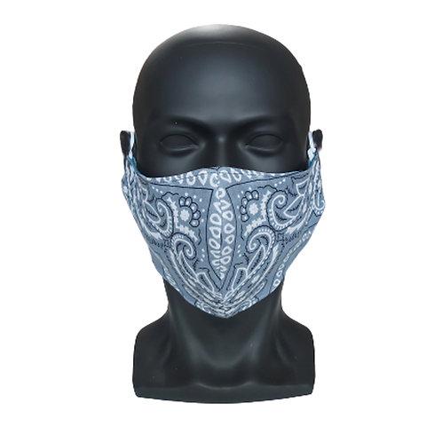 Light Grey Bandana Mask