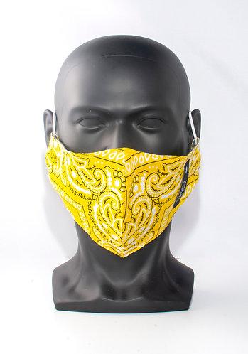 Yellow Bandana Mask