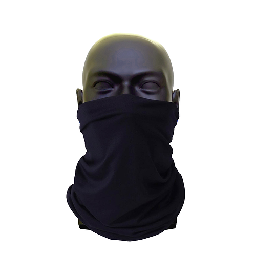 Black Gaiter Face Covering