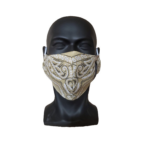 Sand Bandana Mask