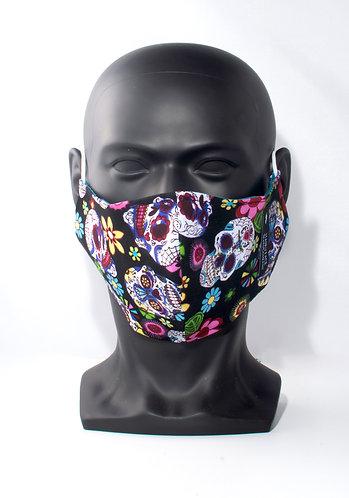 Sugar Skull Bandana Mask