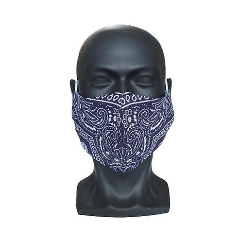 Navy Bandana Mask