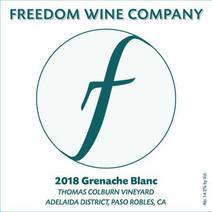 2018 Grenache Blanc