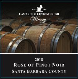 2018 Rose of Pinot Noir