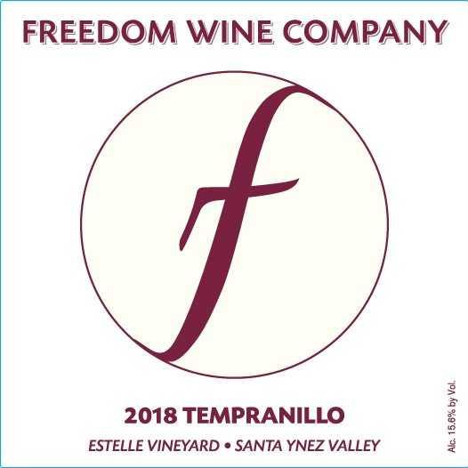 2018 Tempranillo