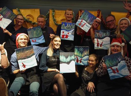 Paint&Party palkkaa Helsinkiin ja Tampereelle!