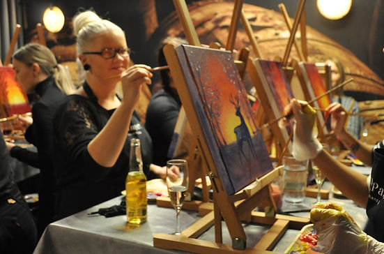 Paint and Wine in Turku