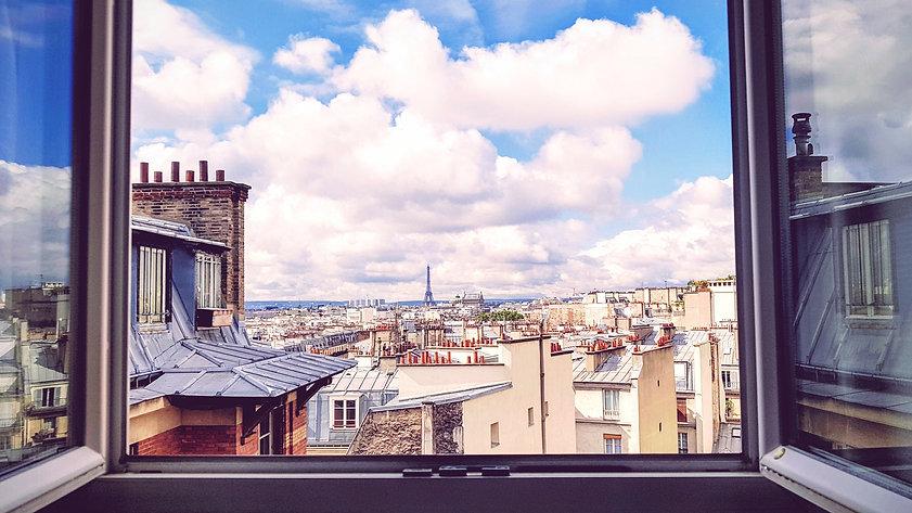 Pariisi maisema - maalausmatka