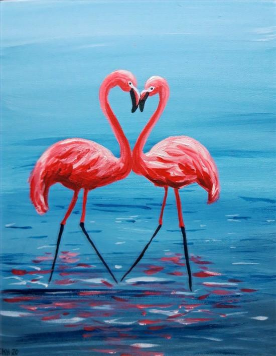 """""""Flamingot"""" taidekurssi Turussa"""