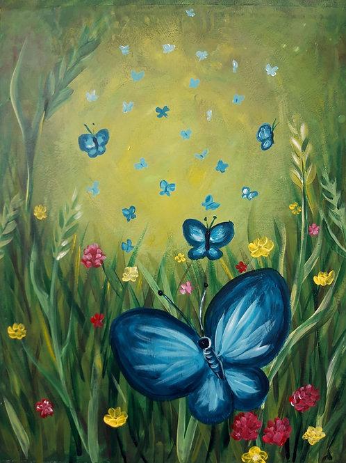 """""""Perhosniitty""""-maalauspaketti"""
