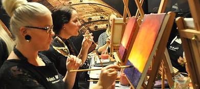 Paint and wine polttarit