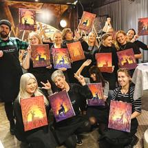 Paintparty helsinki ryhmä