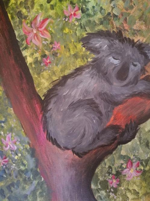 """Ohjeet teokseen: """"Koala"""""""