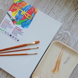Paintparty koti maalauspaketti