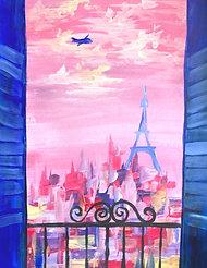 Pariisi onlinelippu ke 14.4. klo 18-20