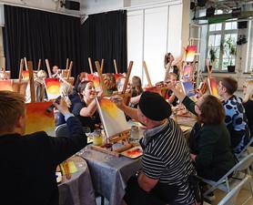 paint and wine magitossa