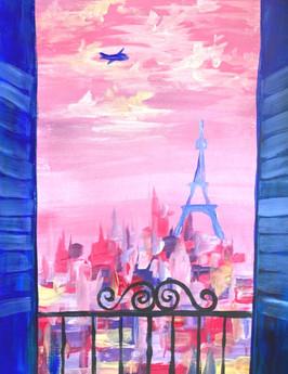 Pariisi-maalaus Lappeenranta