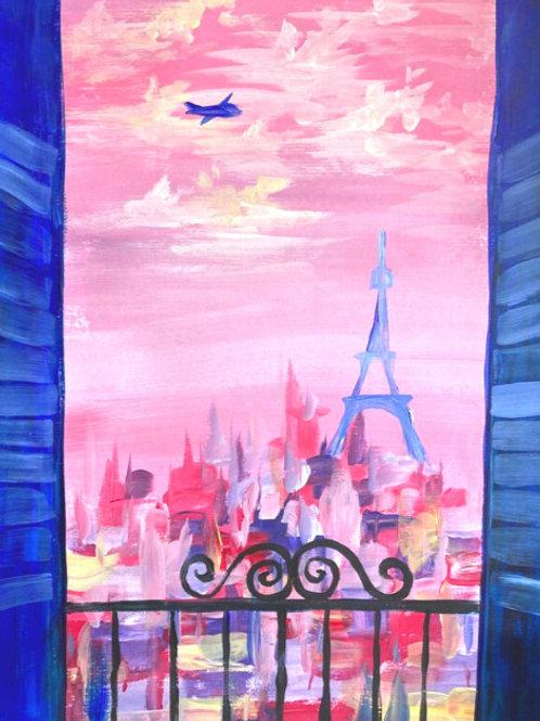 Maalaten Pariisiin ke 14.4. klo 18-20