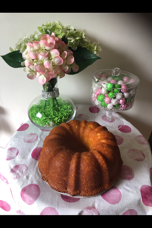 Carrie's Luscious Pound Cakes