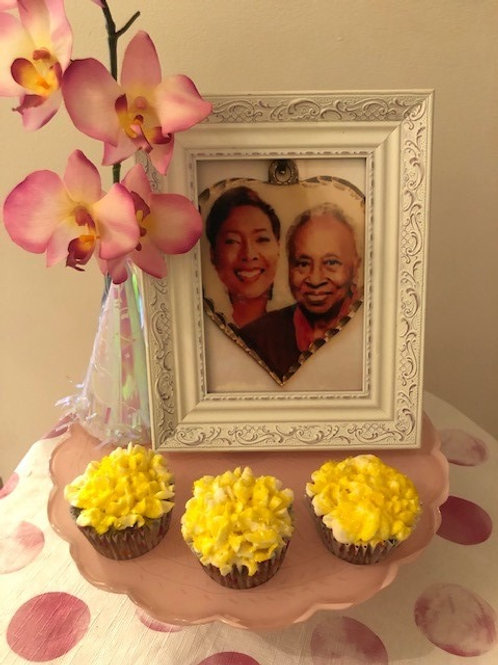 Dr. Roz's Lemon Poppy Seed Keto Cupcakes