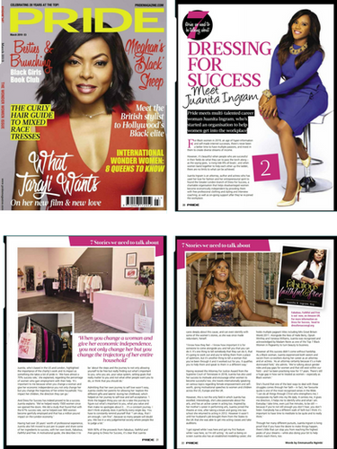 PRIDE Magazine Feature