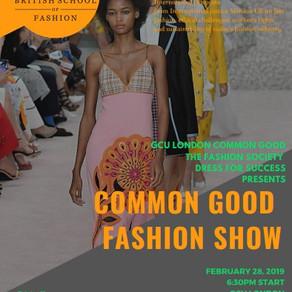 Common Good Fashion Show by GCU