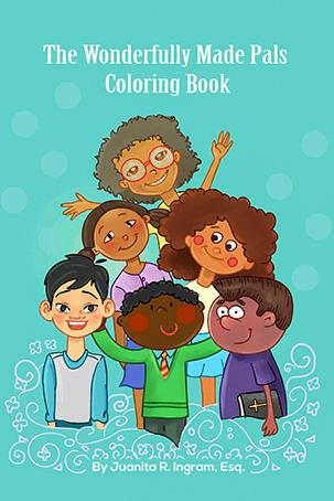 Wonderfully Made Pals Coloring Book