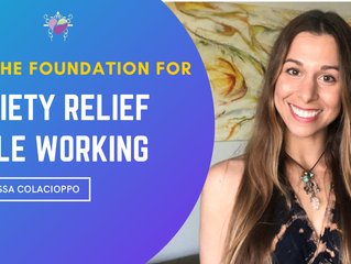 Lay The Foundation For Anxiety Relief While Working
