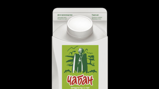 "Кефир 2,5% ж ""Чабан"" п/пак 450г"