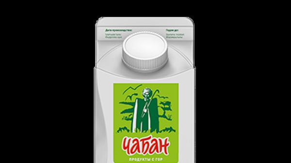 Кисломолочный йогуртный напиток Снежок Чабан  2,5%  П/ПАК 450г