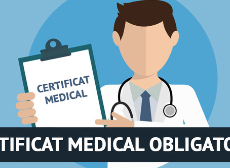 Pensez à votre certificat médical