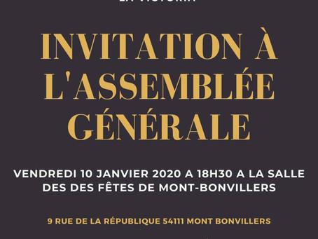 Invitation à l'Assemblée Générale