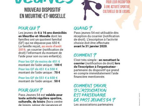 Informations Pass Jeunes 54