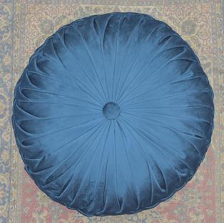 Large Navy Blue Cushion/Pillow