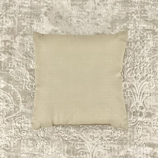 16 In. Solid Tan Pillow