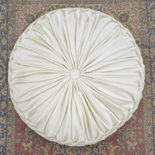 Large Ivory Cushion/Pillow
