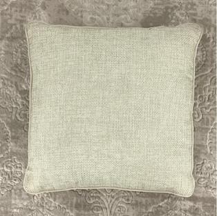 18 In. Cream Pillow