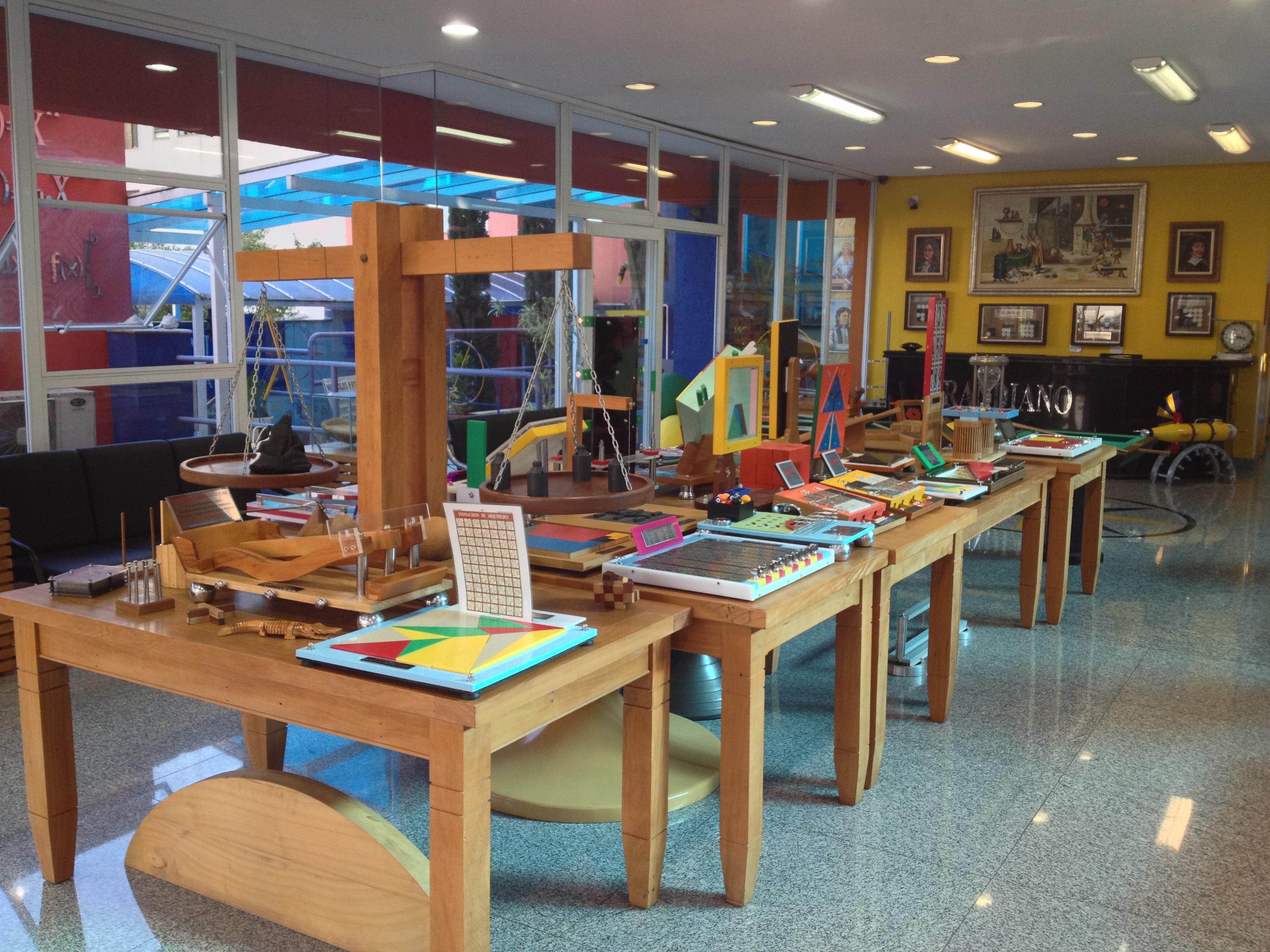 Galeria do Museu da Matemática