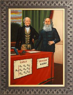 Arthur Cayley e  Sylvester