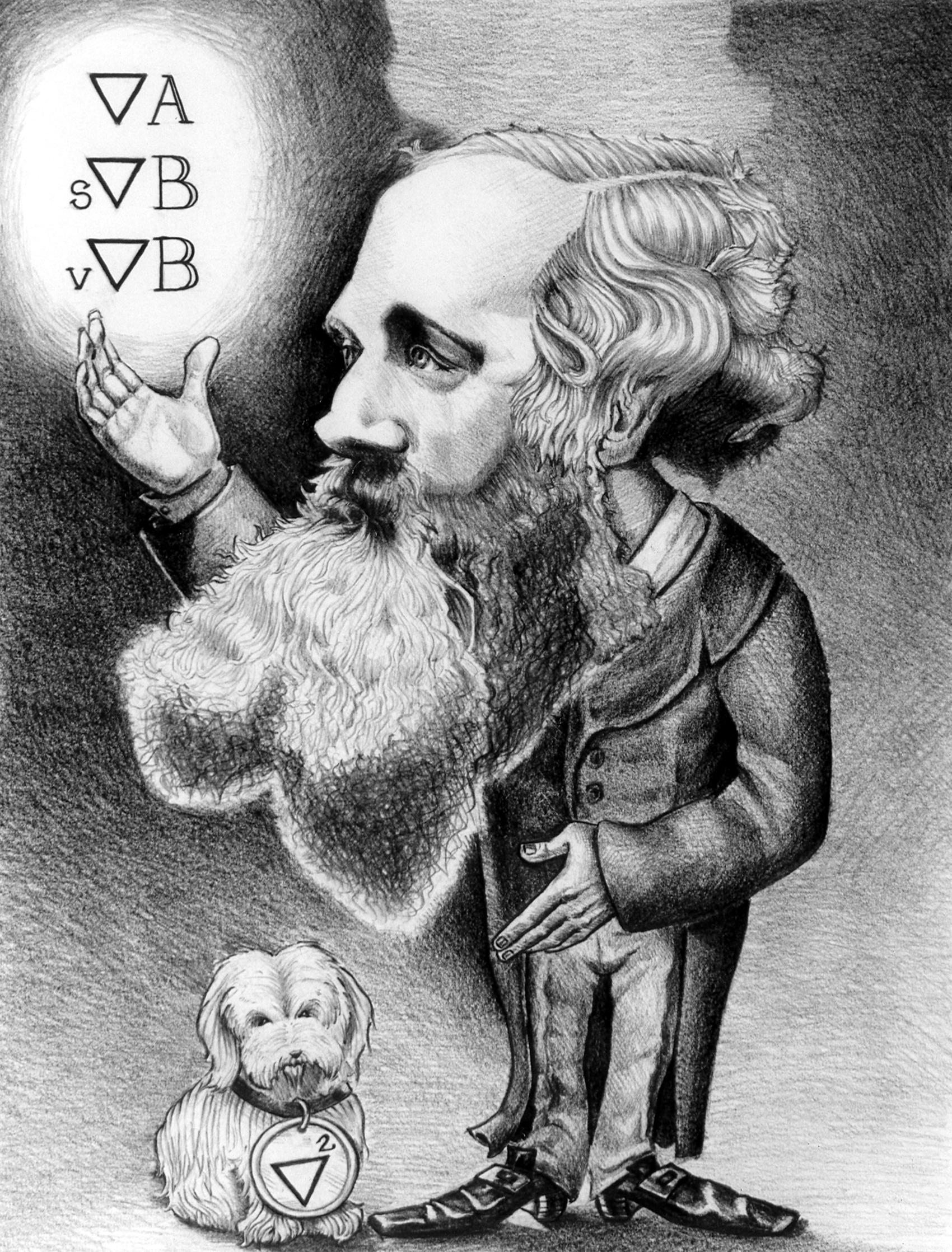 James Clerk Maxwell (1831, 1879)