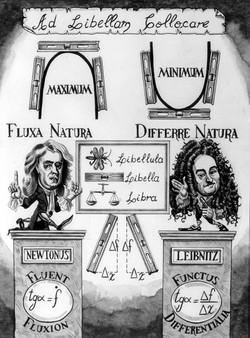 Newton x Leibnitz