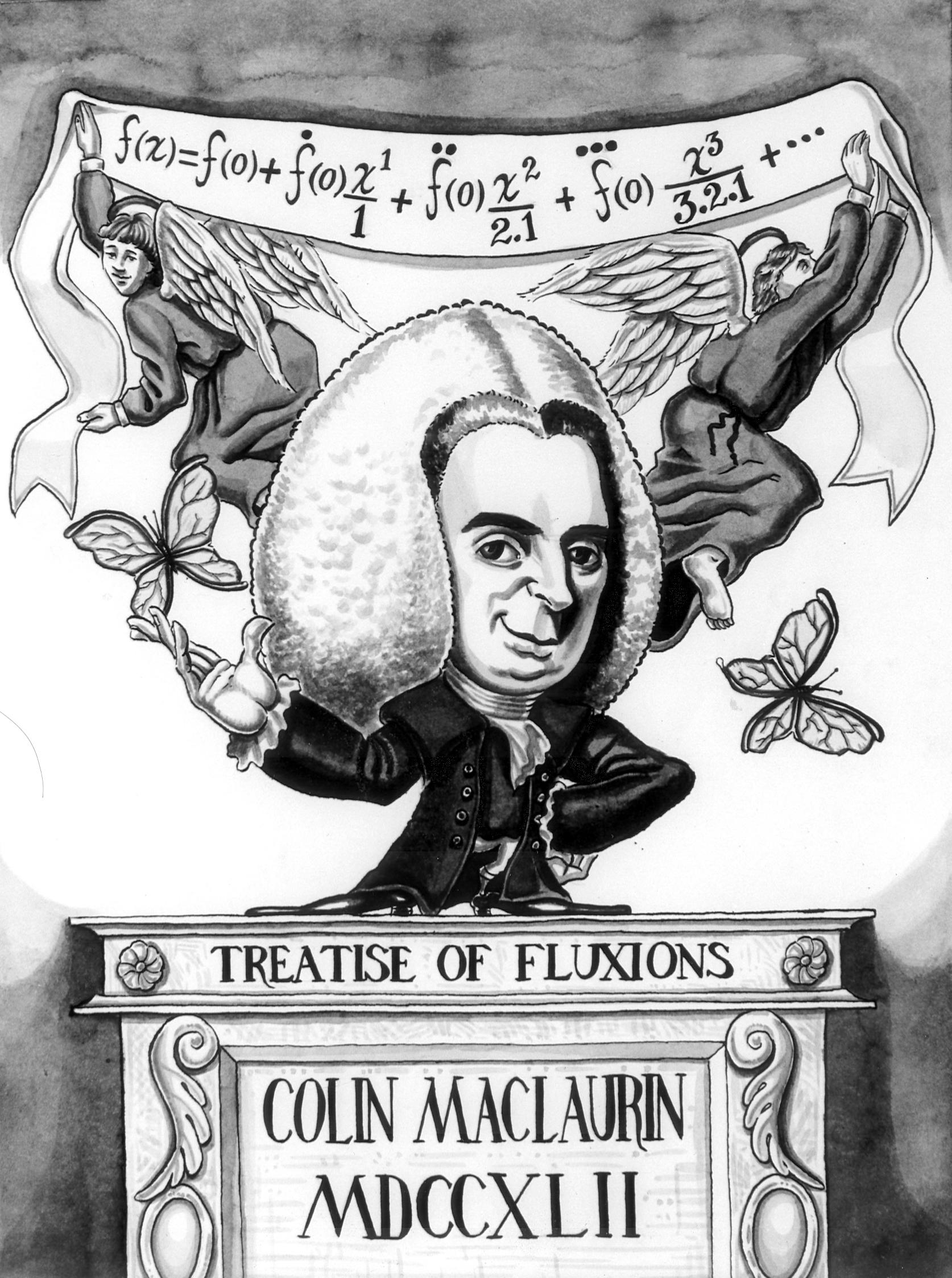Colin Maclaurin (1698, 1746)
