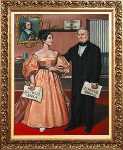 Ada Lovelace (1815, 1852) e Charles Babbage (1781, 1871)