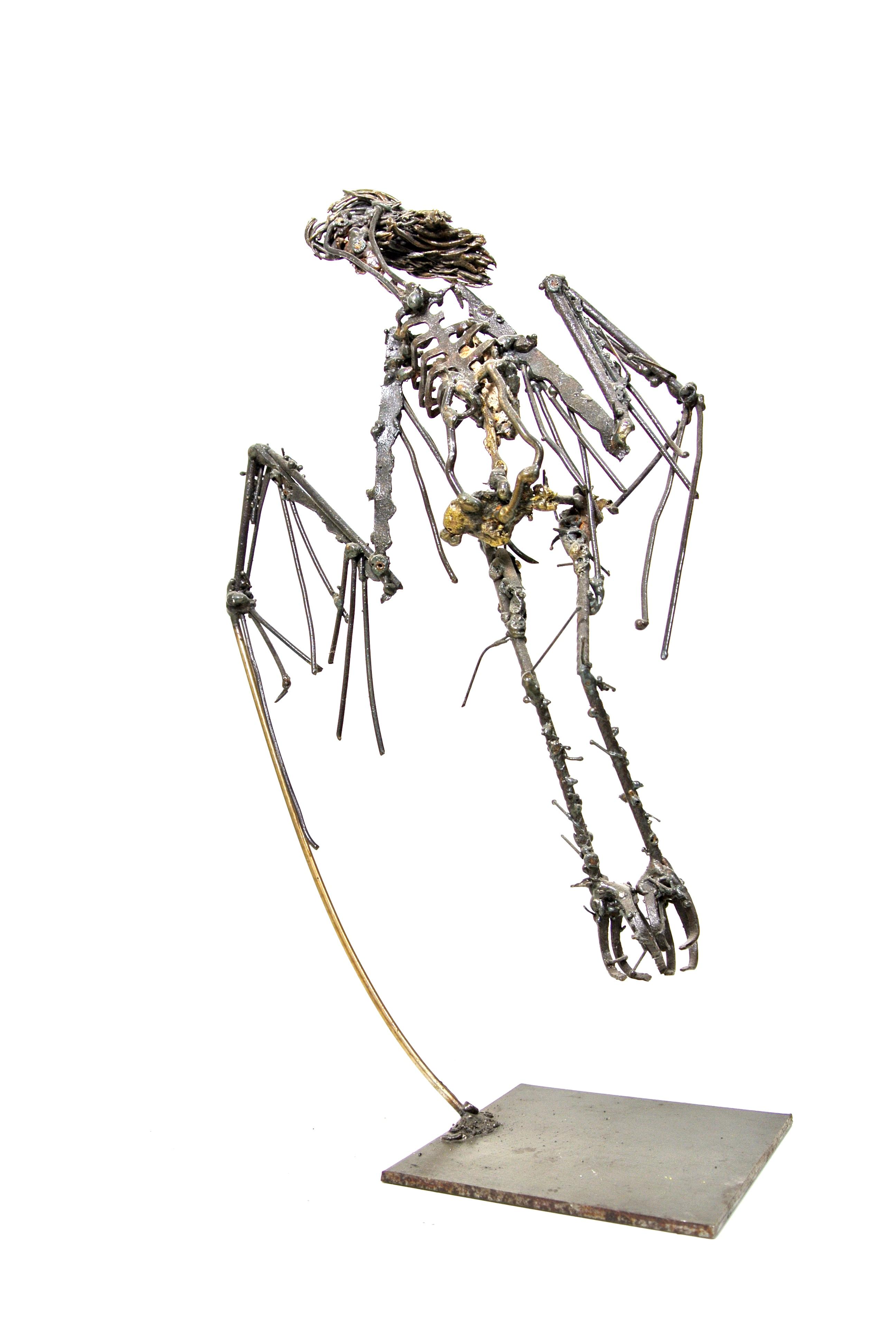 L'Oiseau. 2012. Acier, Bronze